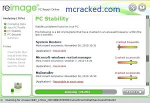 reimage pc repair 2019 license key with crack